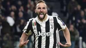 Gonzalo Higuain Juventus Tottenham Champions League