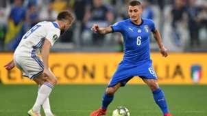 Marco Verratti Italy Bosnia Euro 2020