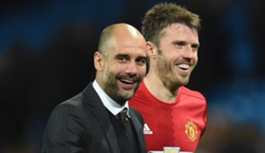 Pep Guardiola & Michael Carrick