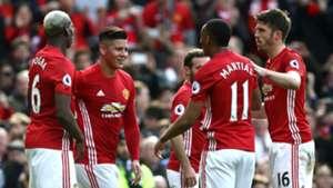 Marcos Rojo Premier League Manchester United v Bournemouth