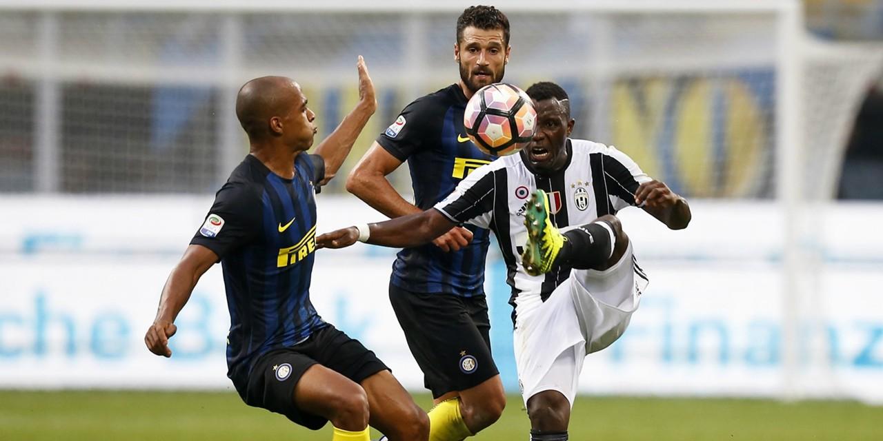 Joao Mario Antonio Candreva Kwadwo Asamoah Inter Juventus Serie A