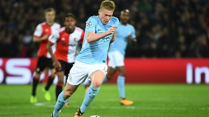 Kevin De Bruyne Manchester City 13092017