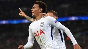 Tottenham Real Madrid Champions League Dele Alli 01112017