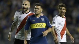Pinola Mauro Zarate Boca River Superclasico Superliga 23092018