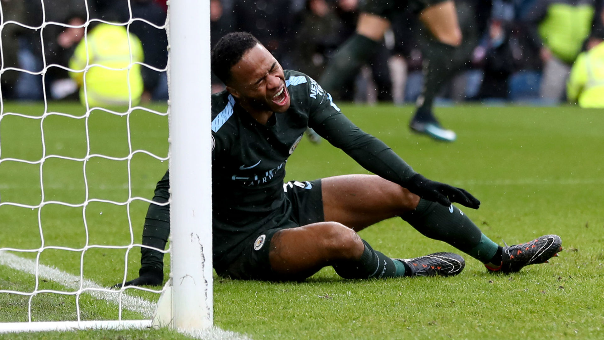 English Premier League: Sterling blunders as Burnley hold Manchester City 1-1