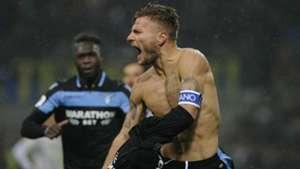Ciro Immobile Inter Lazio Coppa Italia