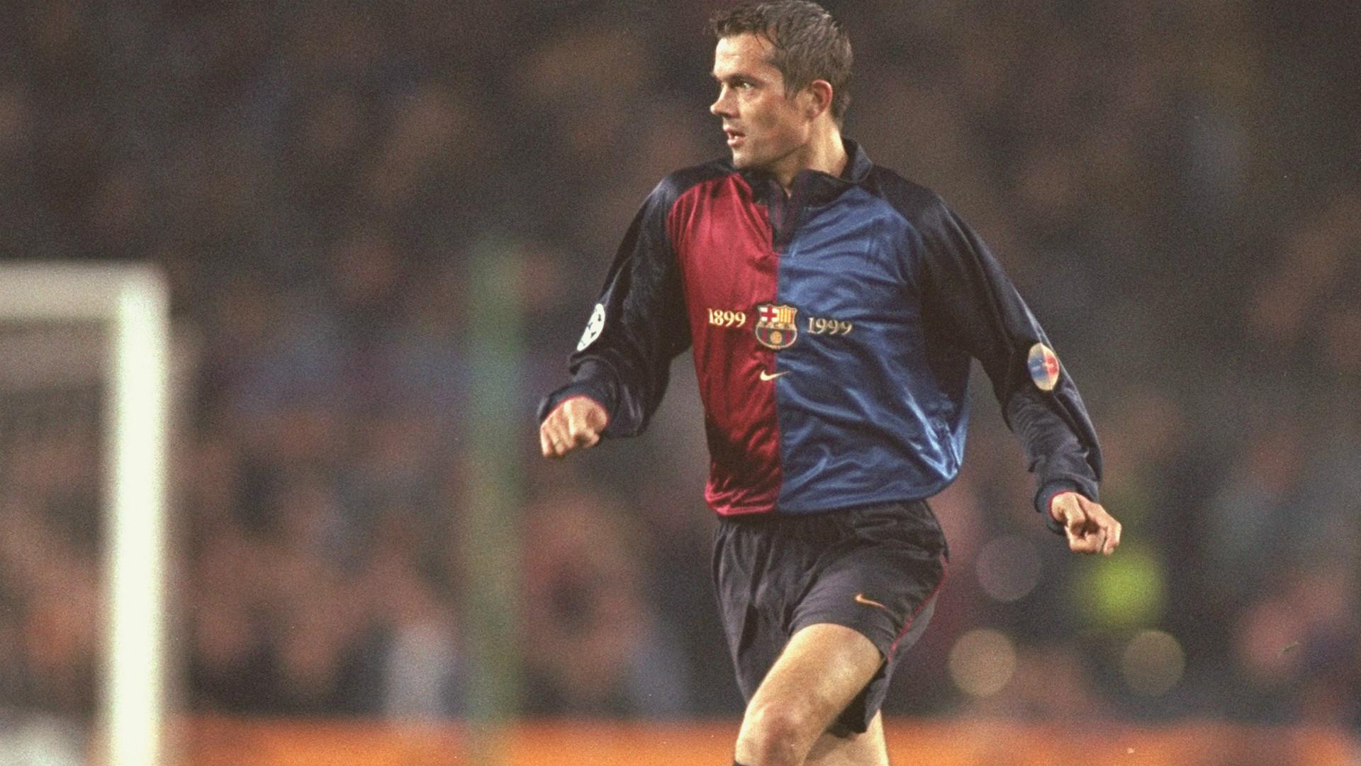 Phillip Cocu Barcelona 1999