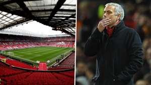 Old Trafford Jose Mourinho