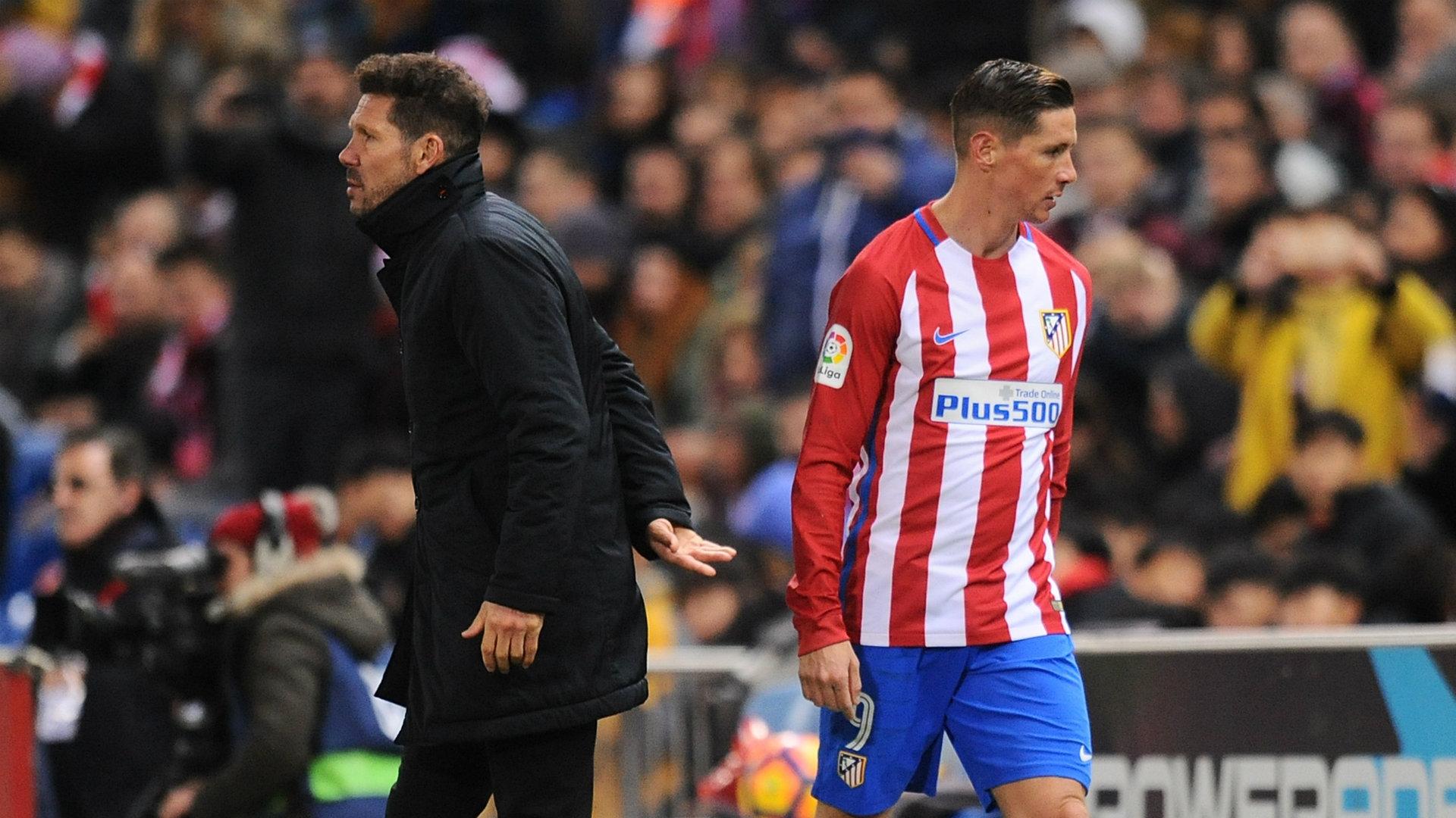 Diego Simeone declara que NO desea a Fernando Torres