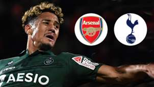 William Saliba Saint-Etienne Arsenal Tottenham