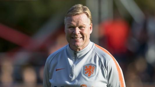Ronald Koeman, Netherlands, 10092018