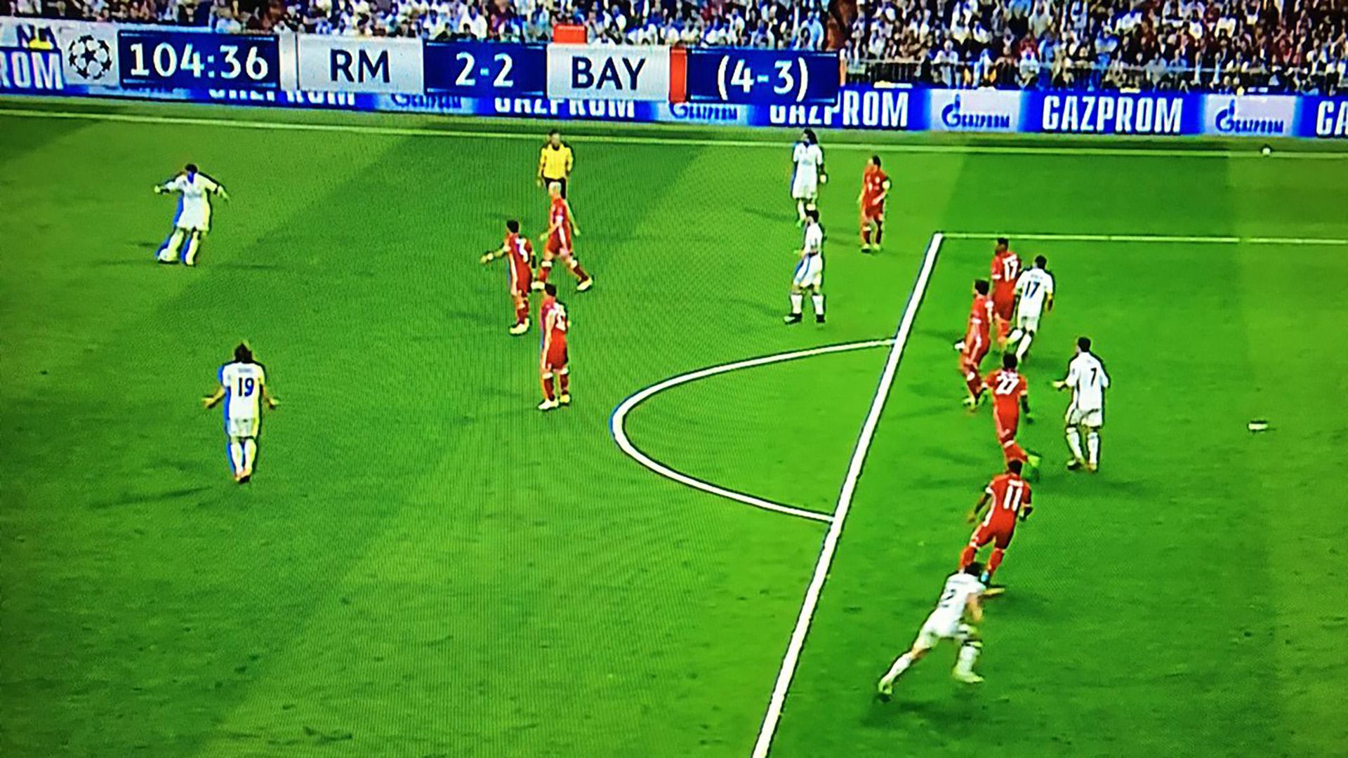Cristiano Ronaldo offside