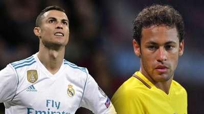 Cristiano Ronaldo, Neymar