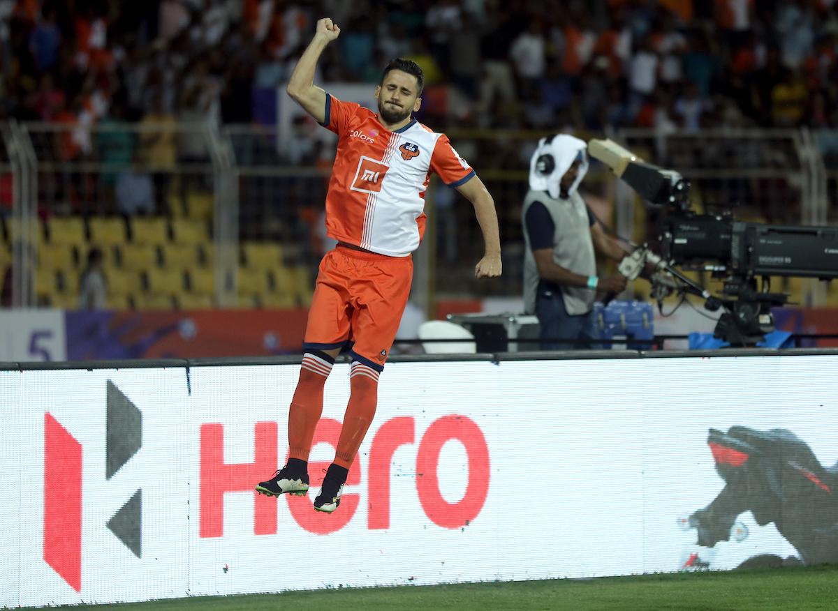 Ferran Corominas FC Goa Mumbai City ISL 2018-19