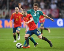 Andres Iniesta for Spain against Germany