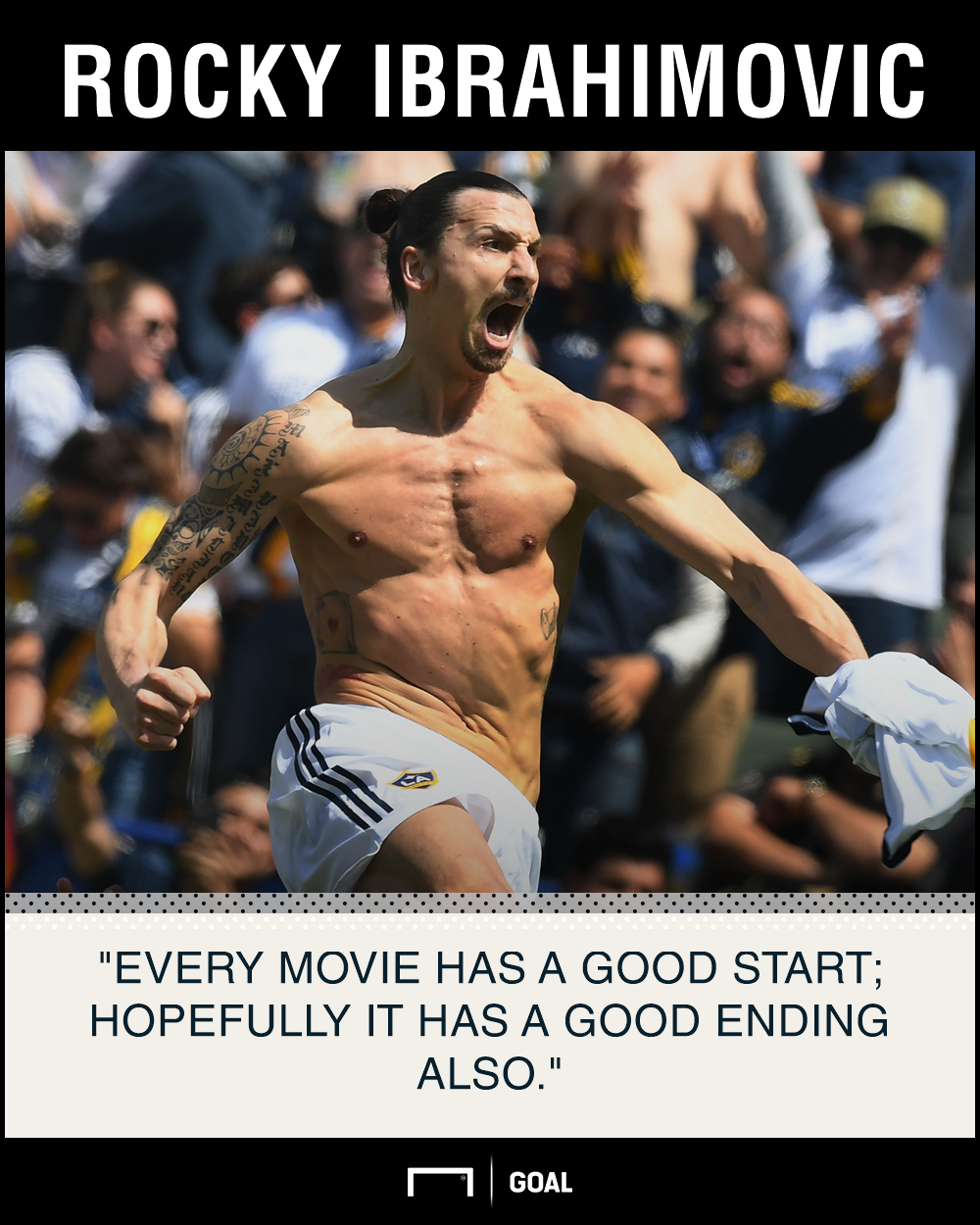 Zlatan Ibrahimovic movie LA Galaxy