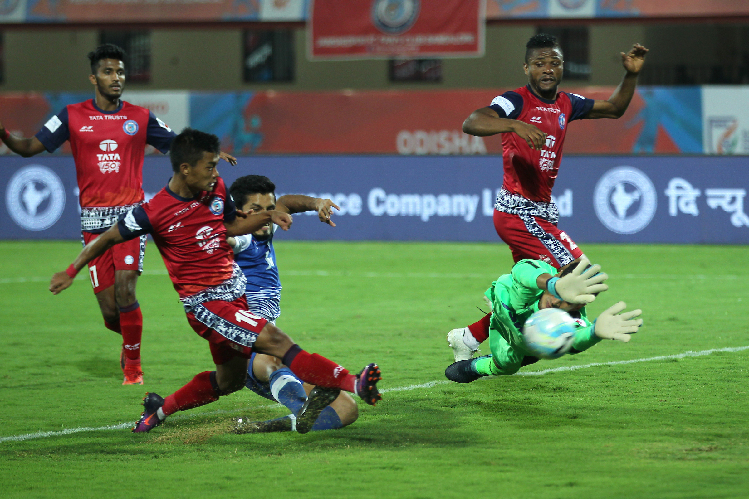 Gurpreet Singh Sandhu; FC Jamshedpur v Bengaluru FC