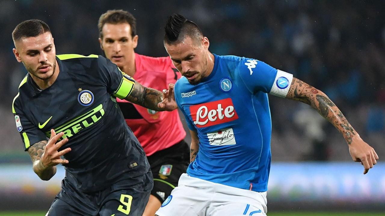 Hamsik Icardi - Napoli-Inter