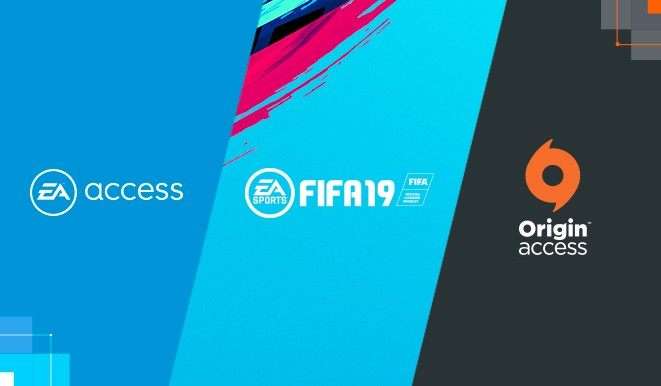 Embed only FIFA 19 Origin Access