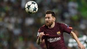 Lionel Messi FC Barcelona Champions League 18102017