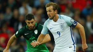 Harry Kane, Bojan Jokic, England vs Slovenia
