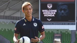 2018-08-17 Honda Keisuke Melbourne Victory