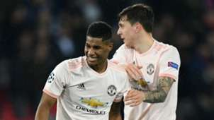Marcus Rashford Manchester United PSG UEFA Champions League 2019