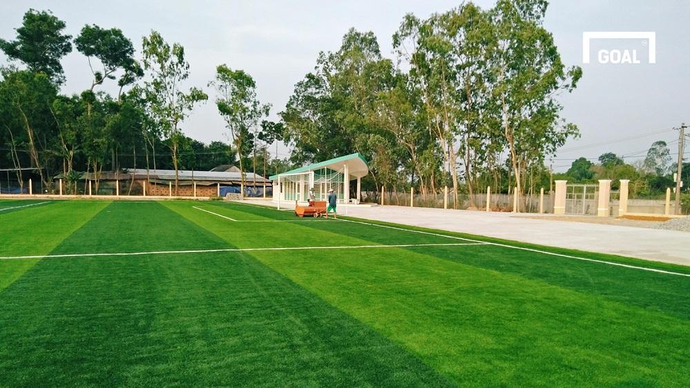 Sân tập CLB bóng Quảng Nam tại Thành phố Tam Kỳ