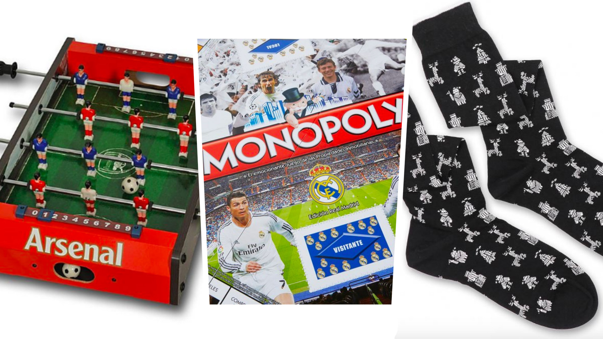 Football stocking fillers