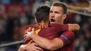 Edin Dzeko Roma CSKA Moscow UCL