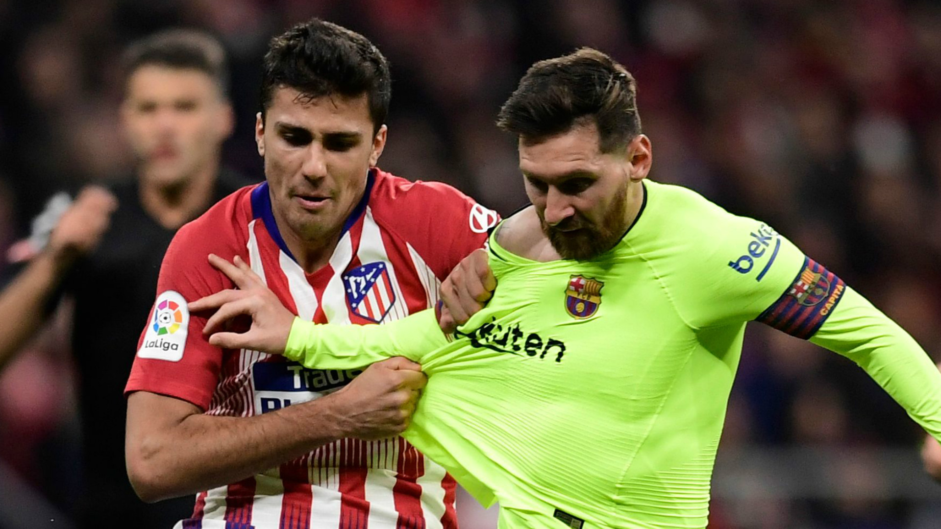 Rodri Lionel Messi Atletico Madrid Barcelona 2018-19