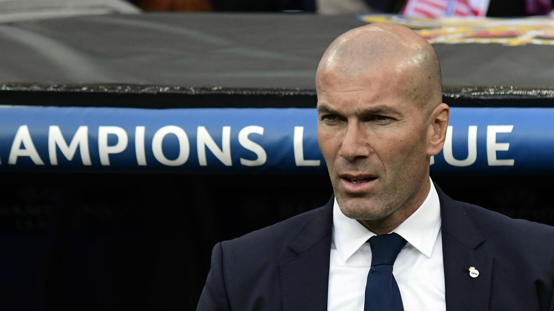 Zinedine Zidane Real Madrid Atletico Madrid Champions League