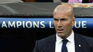 Zinedine Zidane Real Madrid Atletico Madrid Champions League