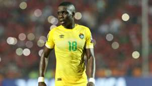 Marvellous Nakamba of Zimbabwe during the 2019 Africa Cup of Nations.