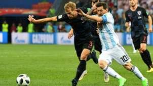 croatia argentina - ivan strinic lionel messi - world cup - 21062018