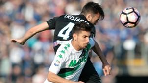 Cristante Pellegrini Atalanta Sassuolo Serie A