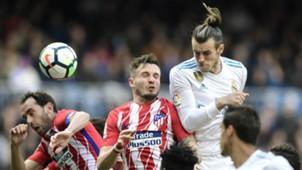Gareth Bale Saul Godin Real Madrid Atletico LaLiga