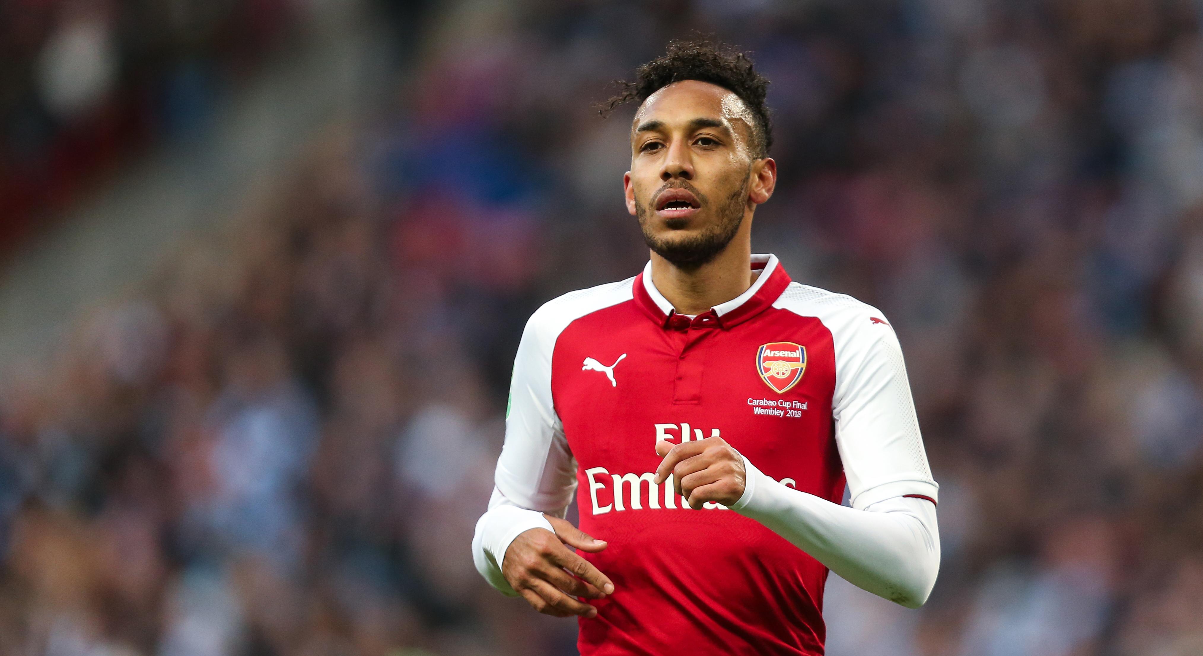 Pierre-Emerick Aubameyang Arsenal Manchester City