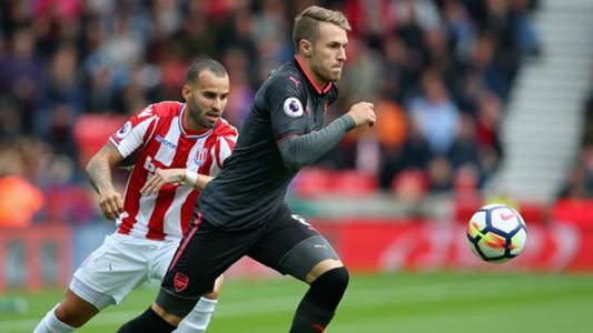 Jese Aaron Ramsey Stoke City FC Arsenal 08192017