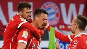 Juan Bernat Sandro Wagner Franck Ribery Bayern Munich