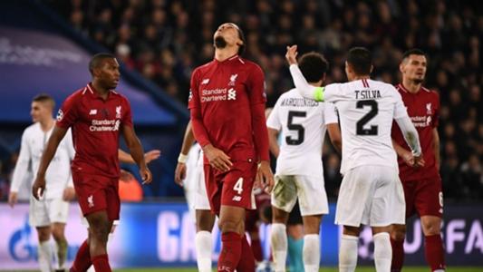 Liverpool news: Virgil van Dijk annoyed by PSG play-acting ...