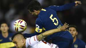 Fernando Gago Huracan Boca Superliga Argentina 26082018