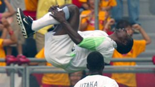 Julius Aghahowa Nigeria Sweden 2002 World Cup