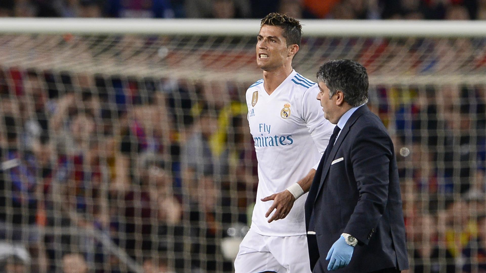 Cristiano Ronaldo injury