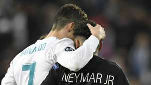 Cristiano Ronaldo Neymar Real Madrid PSG 2017-18