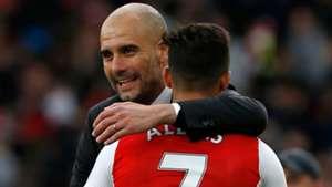 Pep Guardiola Alexis Sanchez