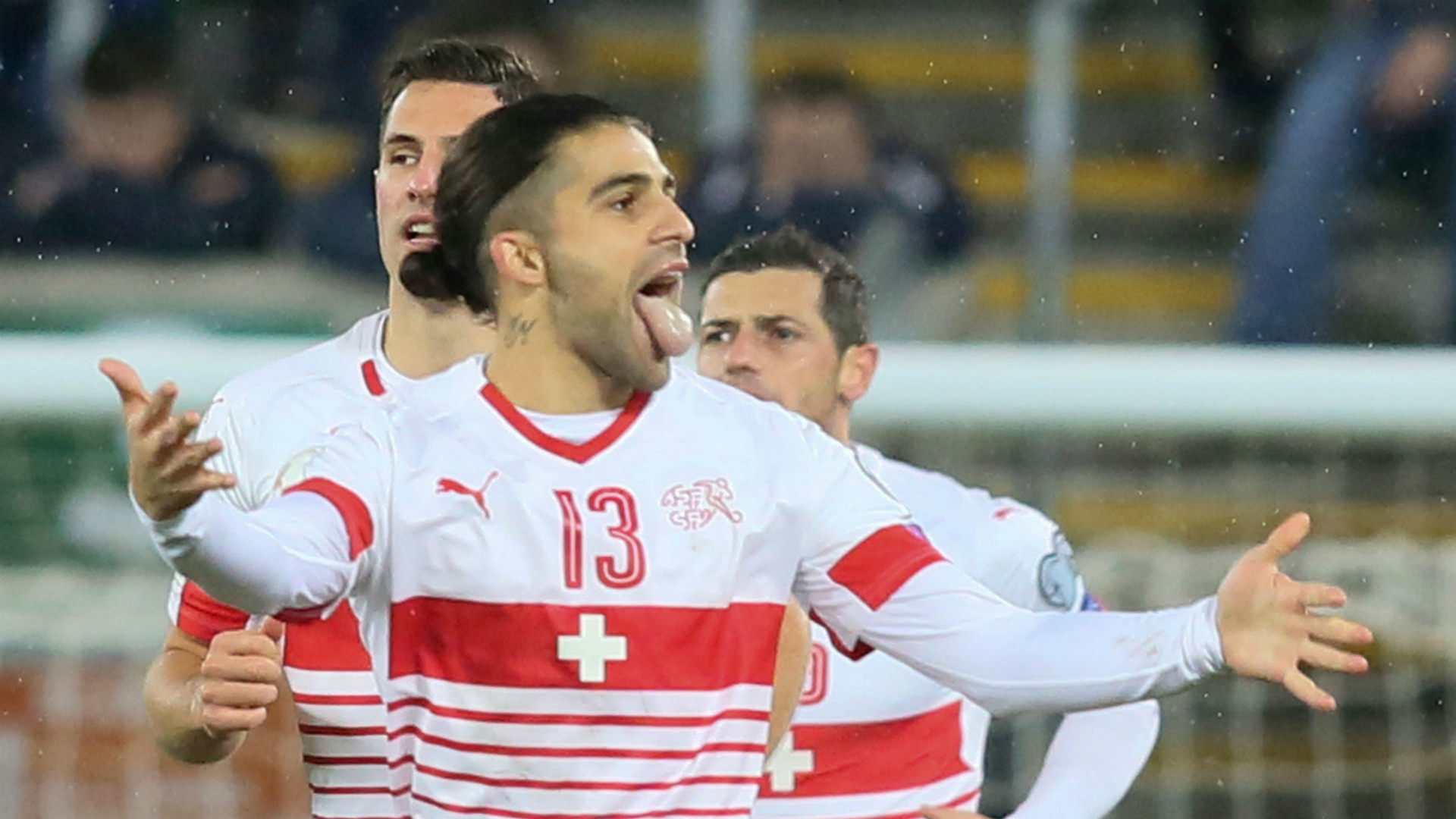 Ricardo Rodriguez Northern Ireland Switzerland