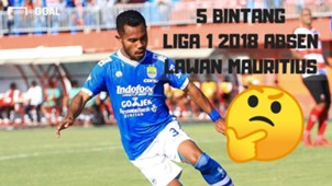Cover Video Lima Bintang Liga 1 Absen Lawan Mauritius