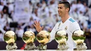Cristiano Ronaldo Balon de Oro Ballon D'Or Real Madrid Sevilla LaLiga 09122017