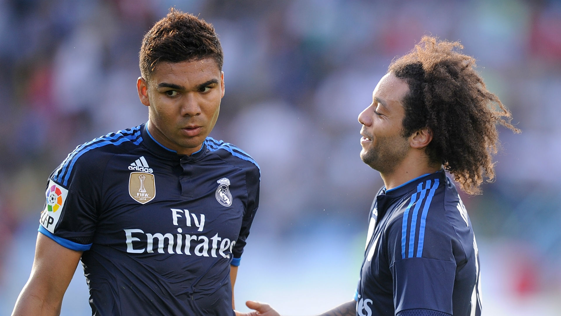 Casemiro Marcelo Real Madrid 18 05 2018